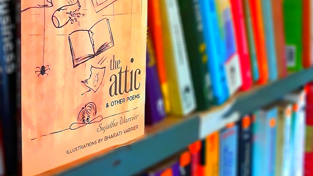 famous english poet and humanitarian preeth nambiar on 'the attic' by Sujatha varrier
